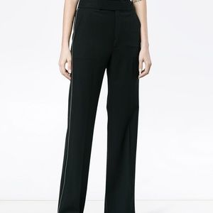 Helmut Lang Size 2 Black High Waist Trouser Pants
